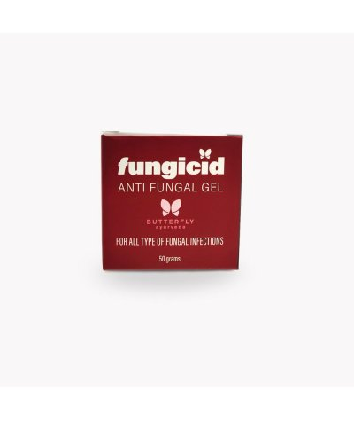 Butterfly Ayurveda FUNGICID GEL (Anti-fungal treatment for all type of fungal infections)