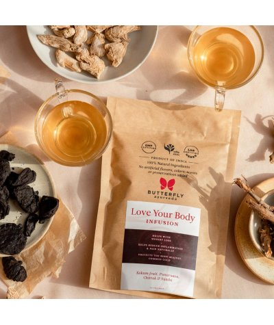 Butterfly Ayurveda Love Your Body Infusion for Weight Loss 20 Tea Bags (40g)