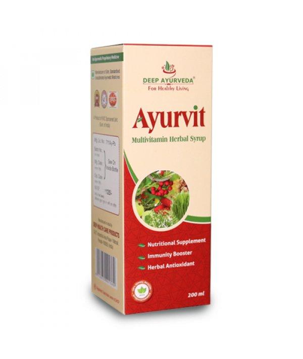 Deep Ayurveda Ayurvit Multivitamin Syrup (Pack of 3)