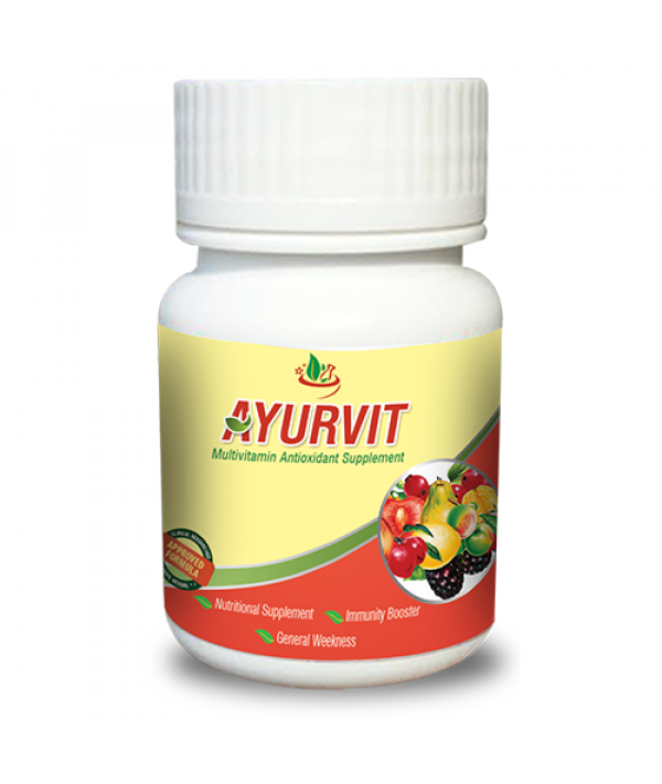 Deep Ayurveda Ayurvit Multivitamin Capsule (Pack of 03)