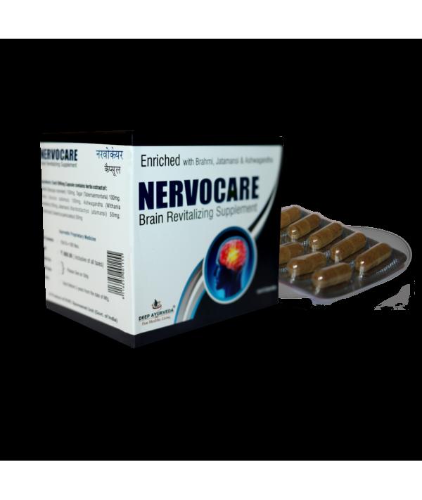 Deep Ayurveda Nervocare Capsule Blister Packing