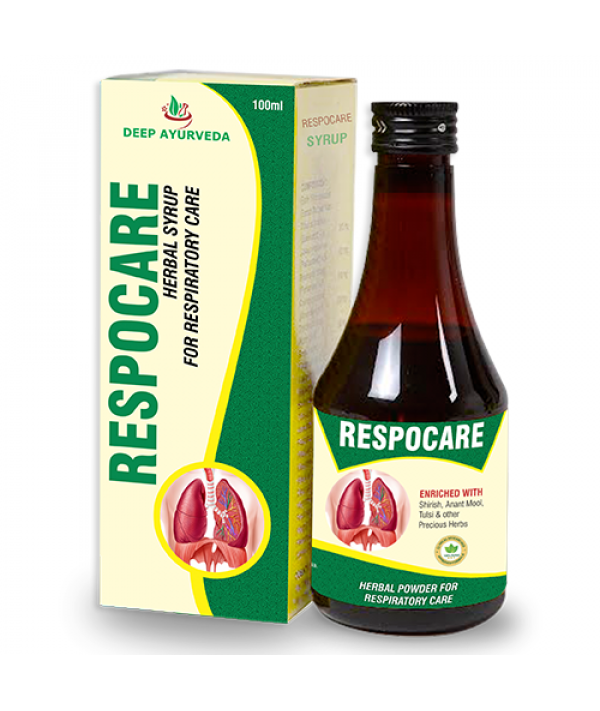 Deep Ayurveda Respocare-Swasani Cough Syrup (Pack of 4)