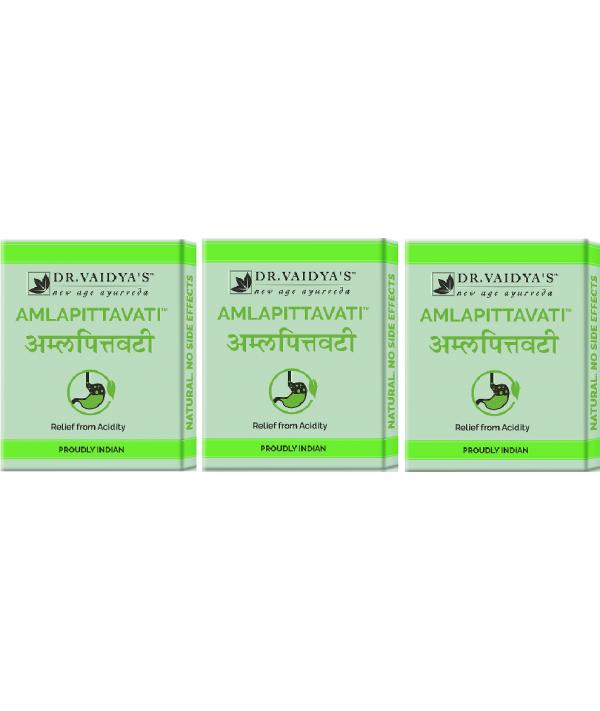 Dr Vaidya Amlapittavati Pills Pack of 3 (72 Pills)