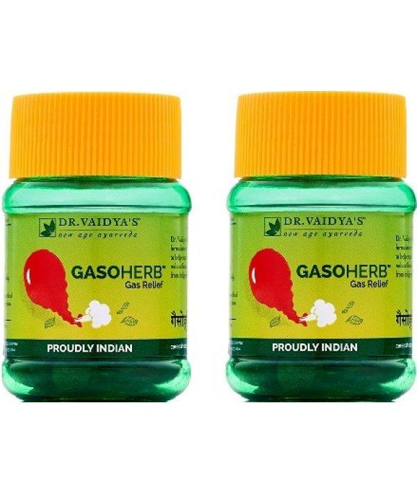 Dr Vaidya Gasoherb Pills Pack of 2 (60 Pills)