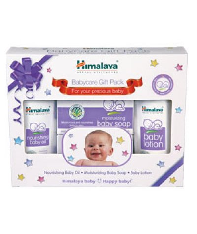 Himalaya Babycare Gift Pack (Oil, Soap, Lotion)