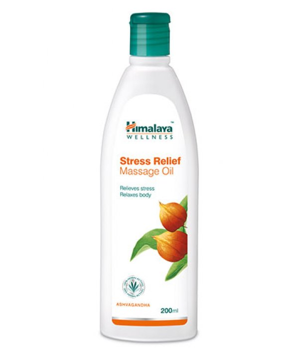 Himalaya Stress Relief Massage Oil