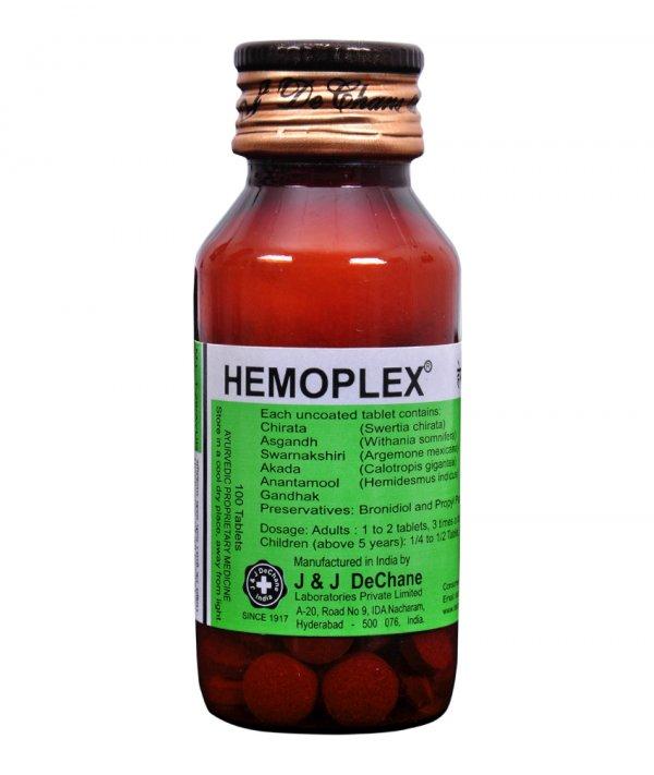 J And J Dechane Hemoplex Tablet