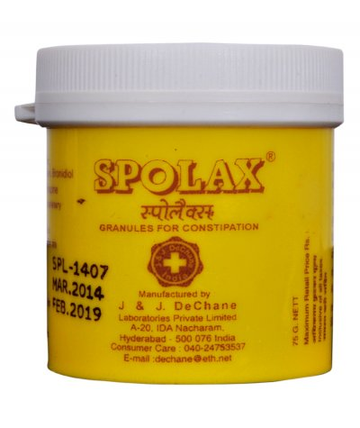 J & J Dechane Spolax Laxative Granules