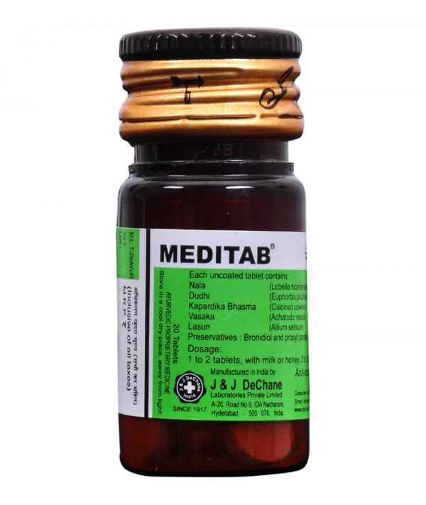 J And J Dechane Meditab Tablets