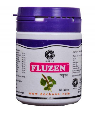 J & J Dechane Fluzen Effective And Safe Antiviral Tablets