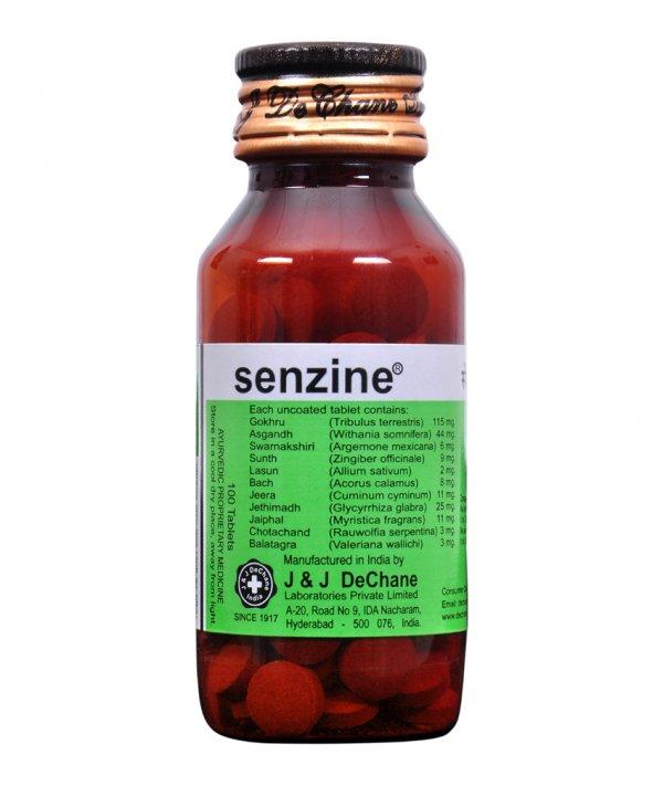 J & J Dechane Senzine Tonic Tablets