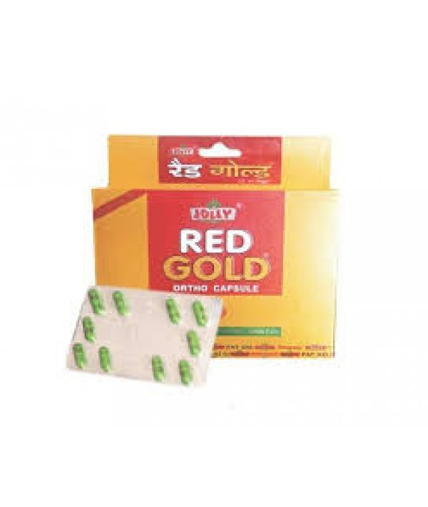 Jolly Red Gold Ortho Capsule