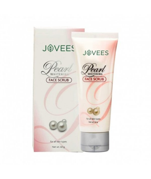 Jovees Pearl Whitening Face Scrub