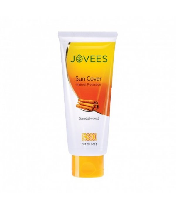Jovees Sandalwood Natural Sun Cover SPF 30