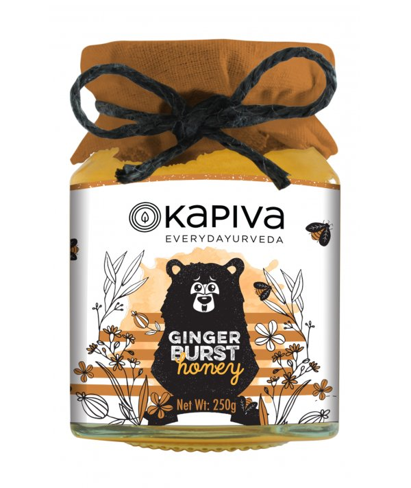 Kapiva Ginger Burst Honey