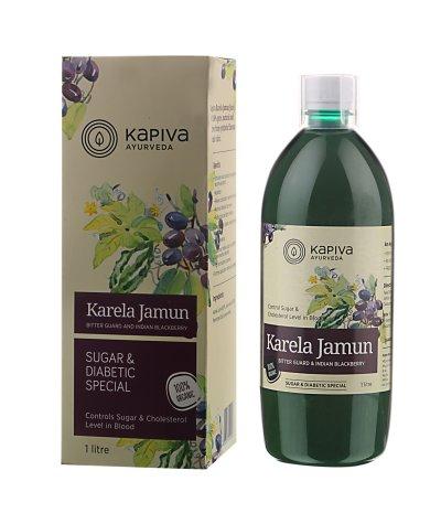 Kapiva Karela Jamun Juice