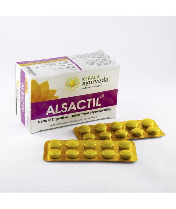 Buy Kerala Ayurveda Alsactil Tablet at Best Price Online