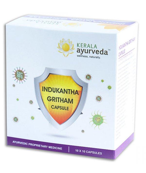Kerala Ayurveda Indukantha Ghritham Capsule