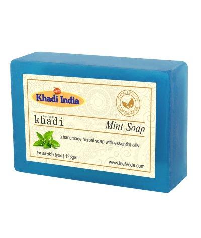 Khadi Leafveda Mint Soap