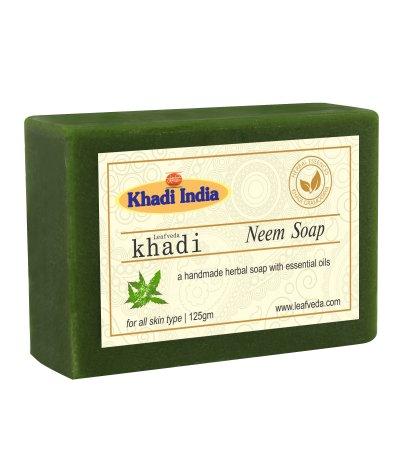 Khadi Leafveda Neem Soap