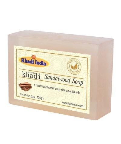 Khadi Leafveda Sandalwood Soap