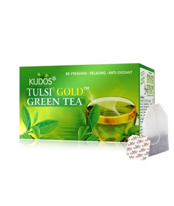 Kudos Tulsi Green Tea