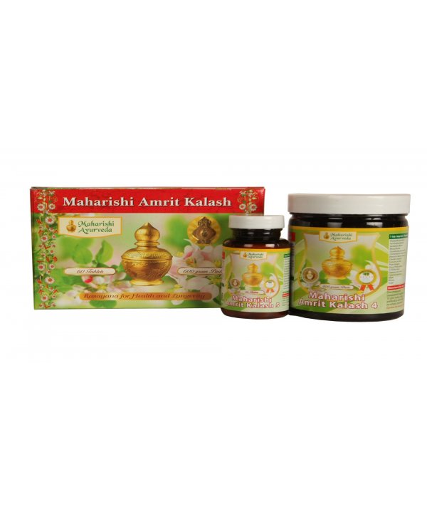 Maharishi Amrit Kalash Dual Pack (Paste and Tablet)