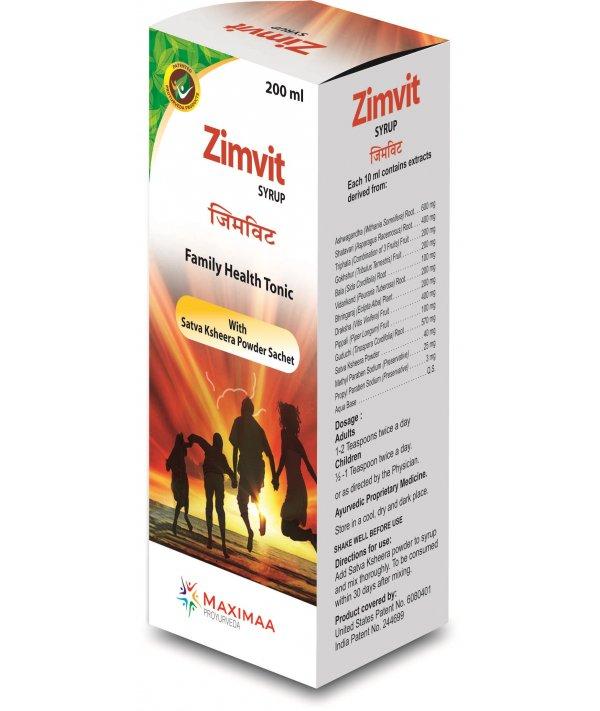 Maximaa Proyurveda Zimvit Syrup