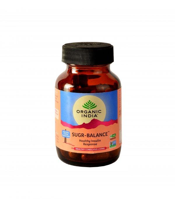 Organic India Sugr Balance Capsule