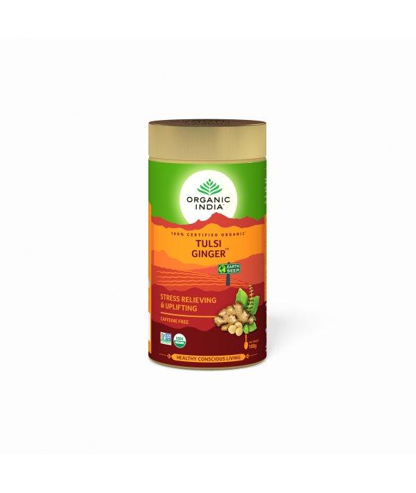 Organic India Tulsi Ginger Tin
