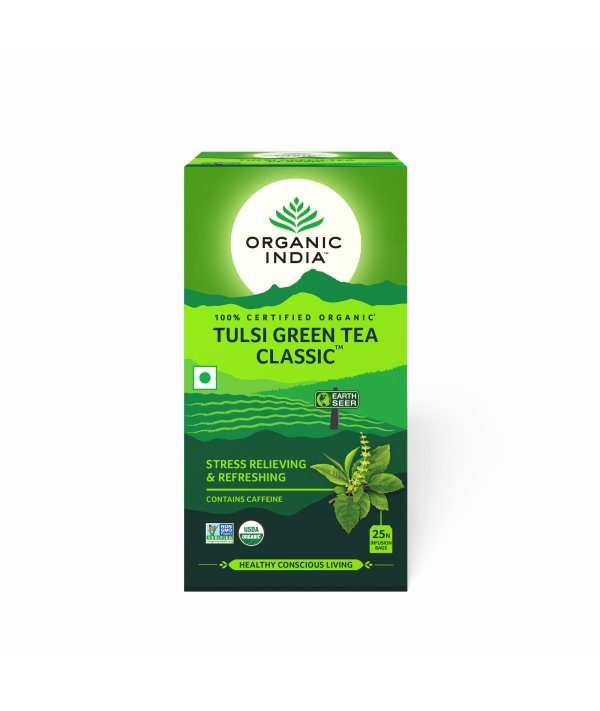Organic India Tulsi Green Classic