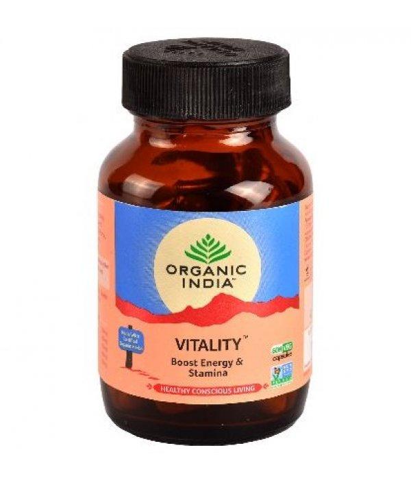 Organic India Vitality Capsule