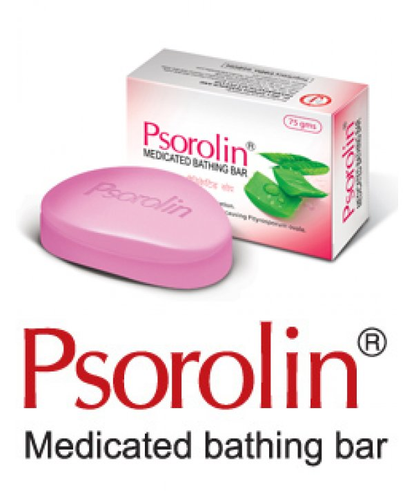 Dr JRK Siddha Psorolin Medicated Bathing Soap