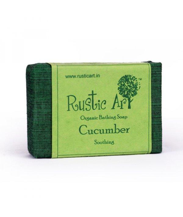 Rustic Art Organic Cucumber Soap