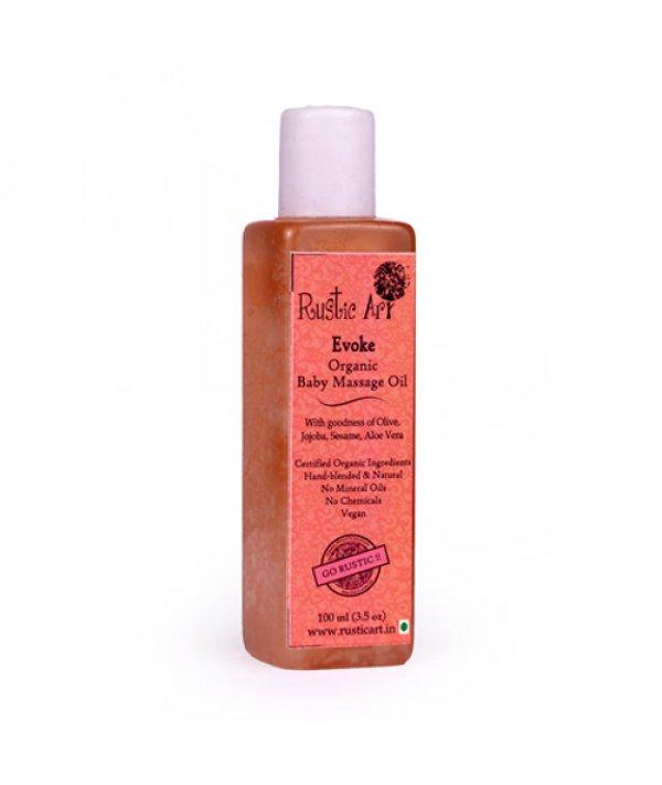 Rustic Art Organic Baby Oil Evoke