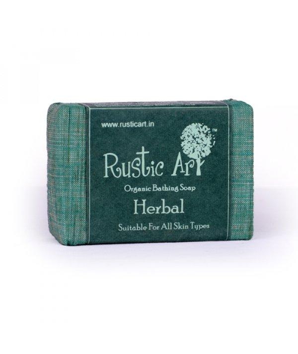 Rustic Art Organic Herbal Soap