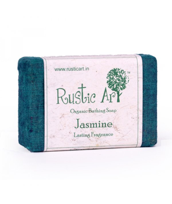 Rustic Art Organic Jasmine Soap