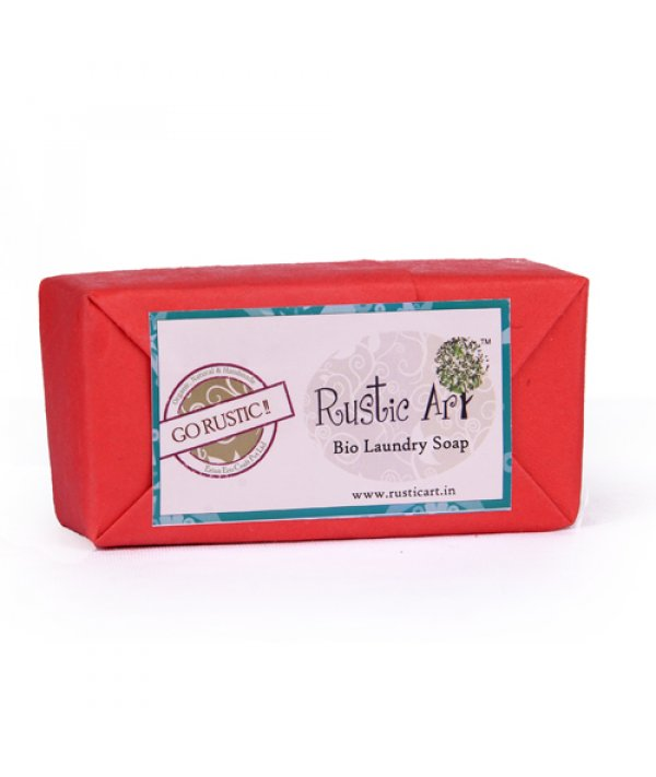 Rustic Art Bio Degradable Bio Laundry Soap (Set of 4)