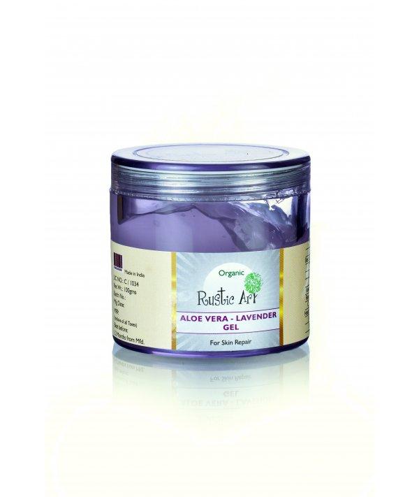 Rustic Art Organic Aloe Vera Gel Lavender Gel