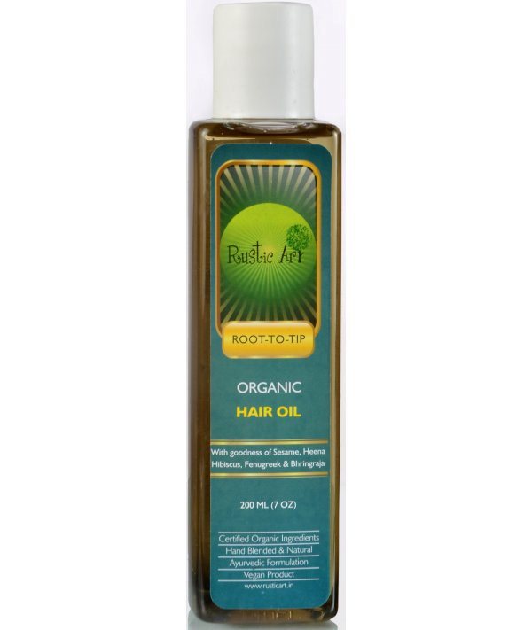 Rustic Art Organic Hair Oil/Nourisher