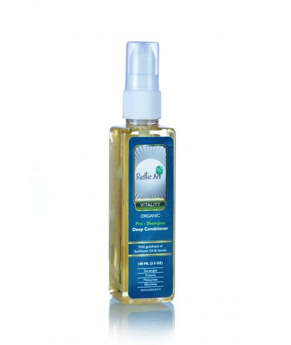 Rustic Art Organic Pre-Shampoo Deep Conditioner