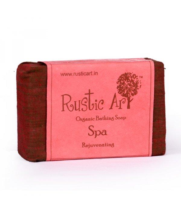 Rustic Art Organic Spa Soap