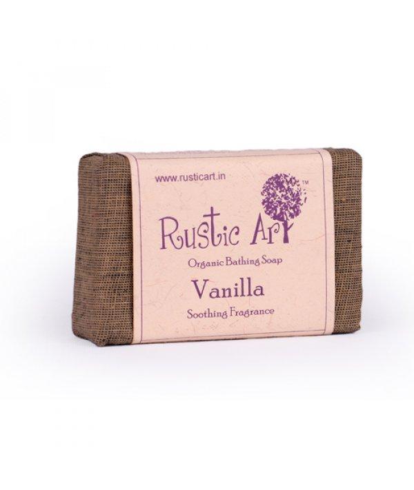 Rustic Art Organic Vanilla Soap