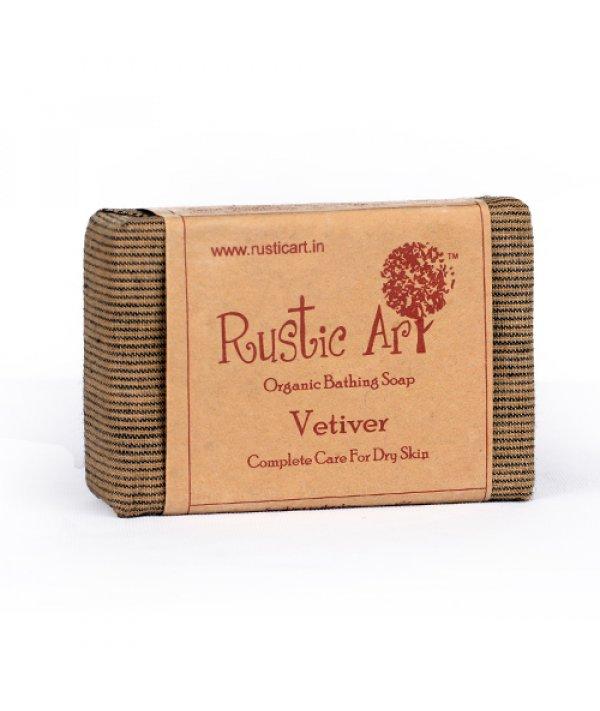 Rustic Art Organic Vetiver Soap