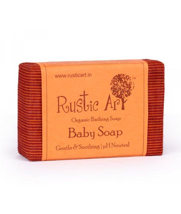 Rustic Art Baby Soap