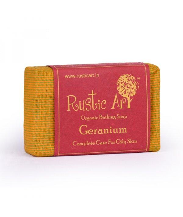 Rustic Art Organic Geranium Soap