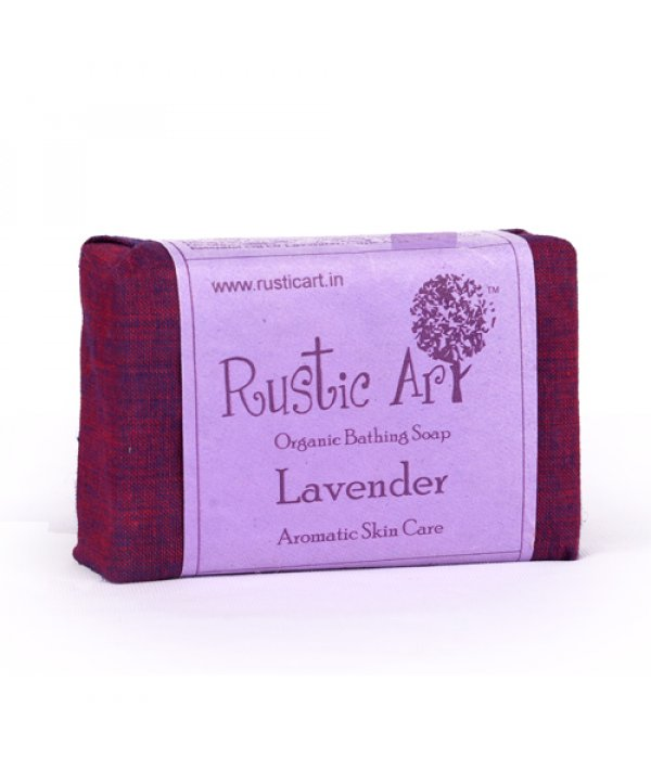 Rustic Art Organic Lavender Soap