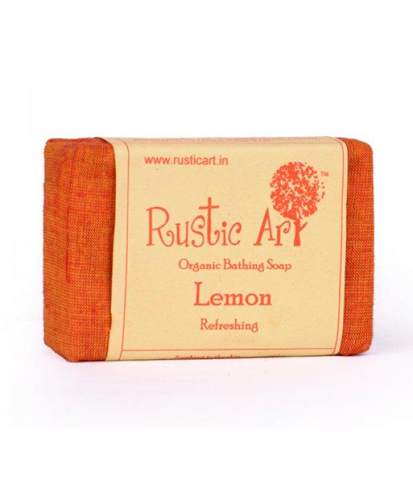 Rustic Art Organic Lemon Soap