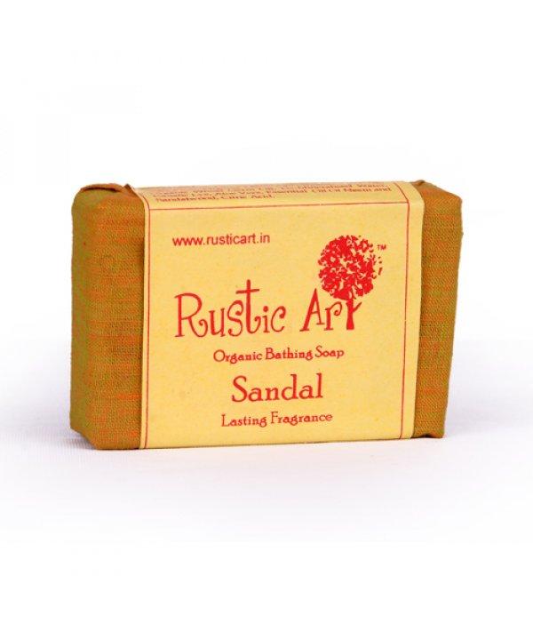 Rustic Art Organic Sandal Soap