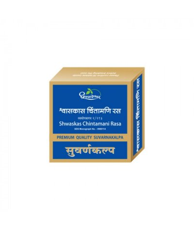 Dhootapapeshwar Shwaskas Chintamani Rasa Premium Quality Gold